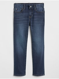 Kids Straight Jeans in Stretch