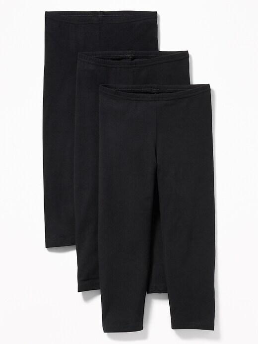 Capri-Leggings 3-Pack for Girls