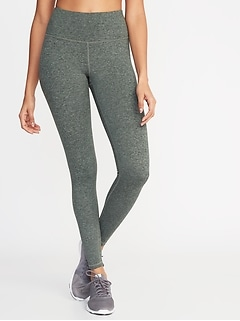 324043962c6ad High-Rise Soft-Brushed Elevate Compression Leggings for Women