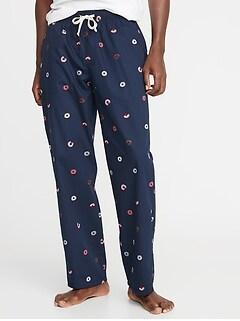 Printed Poplin Sleep Pants for Men b94737d0e