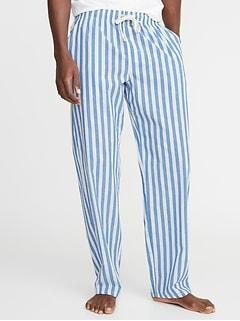 Printed Poplin Sleep Pants for Men 5ba212ce3