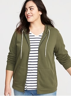 8355dbf7760 Women s Plus-Size Hoodies   Sweatshirts