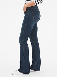 Mid Rise Curvy Perfect Boot Jeans