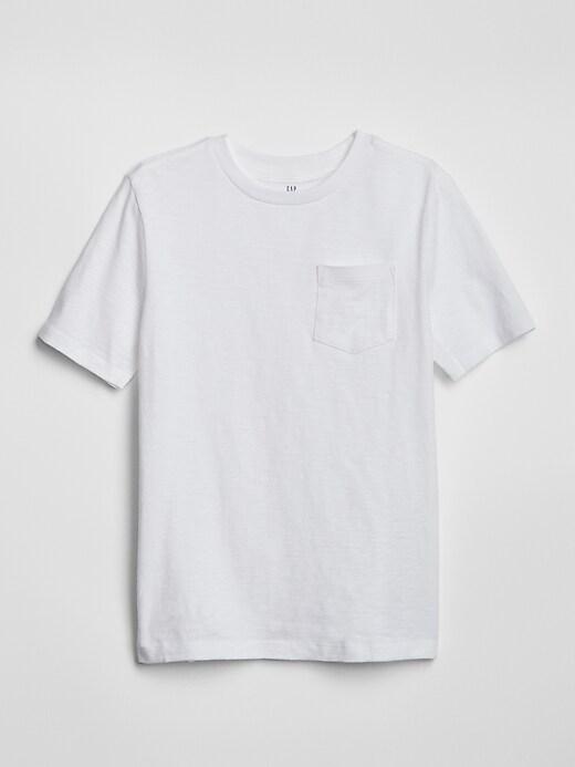 Kids Pocket Short Sleeve T-Shirt