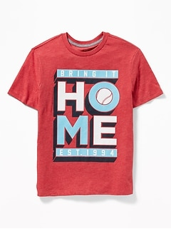 2d8a0f872 Graphic Crew-Neck Tee for Boys