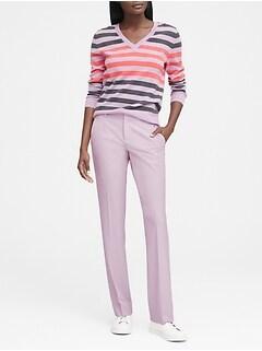 0fc35f3e057 Logan Trouser-Fit Birdseye Pant