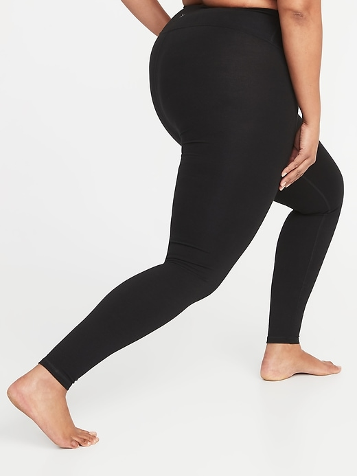 High-Waisted Plus-Size Yoga Leggings