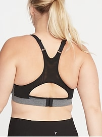 High-Support Plus-Size Sports Bra
