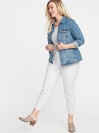 Plus-Size Jean Jacket