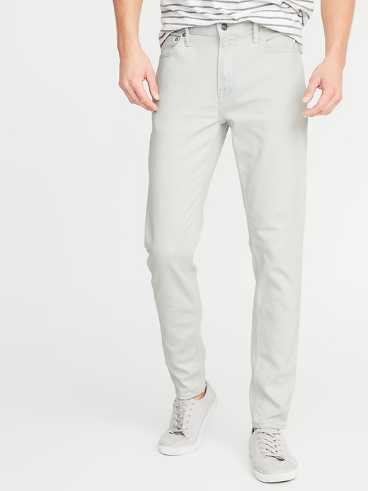 Relaxed Slim Built-In Flex All-Temp Jeans For Men