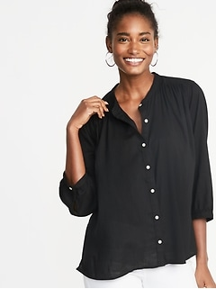 Tall Women S Shirts Blouses Old Navy