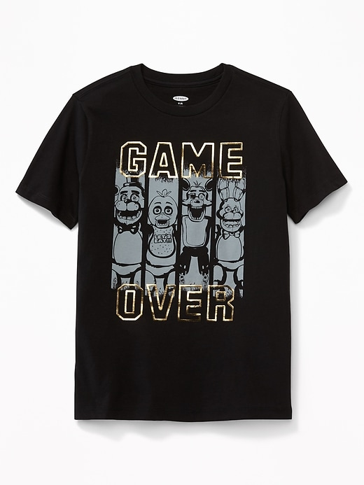 """Five Nights at Freddy's&#153 """"Game Over"""" Tee for Boys"""