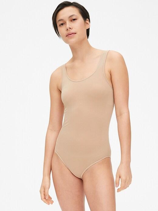 First Layer Essentials Seamless Scoopneck Bodysuit