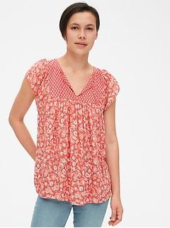 Women S Shirts Blouses Gap