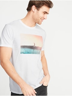 533abdea Graphic Soft-Washed Tee for Men