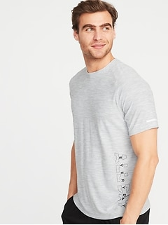 28482a5667c1c Ultra-Soft Breathe ON Go-Dry Built-In Flex Graphic Tee for Men