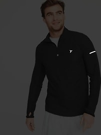 Ultra-Soft Breathe ON 1/4-Zip Pullover for Men