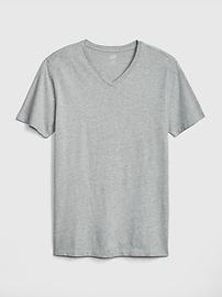 T-shirt classique à col enV