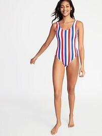 Scoop-Neck Swimsuit for Women