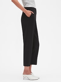 Petite Hayden Pull-On Tapered Fit Soft Ankle Pant