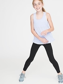 Go-Dry Yoga Leggings for Girls