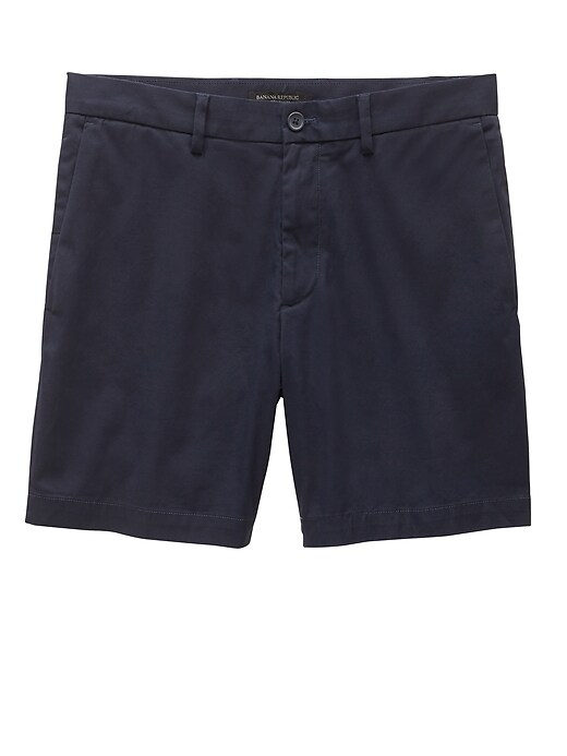 "7"" Slim Stretch-Cotton Short"