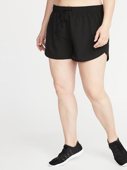 Plus-Size Run Shorts - 3.5-inch inseam