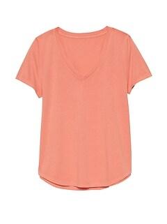 661b989c3f69bd SUPIMA® Cotton V-Neck T-Shirt