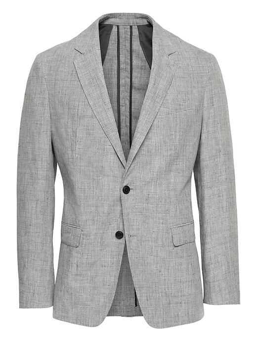 Heritage Slim Linen Suit Jacket