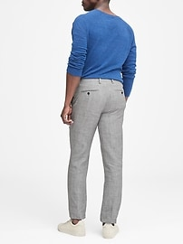 Heritage Slim Tapered Linen Suit Pant