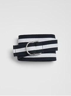 1d14ea7ce82 Stripe Webbing Belt