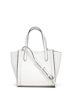 6b2d67d21d Italian Leather Mini Tailored Tote Bag