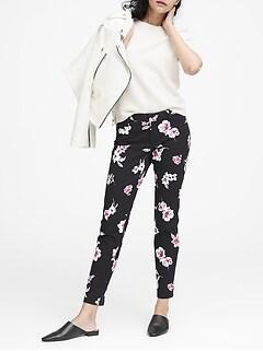 8726fd07bfae Sloan Skinny-Fit Floral Ankle Pant