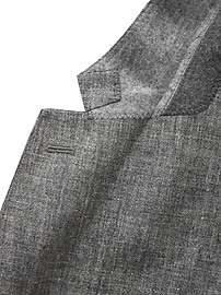 Slim Linen Suit Jacket