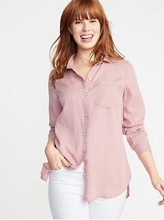 66889de4 Tall Women's Shirts & Blouses | Old Navy