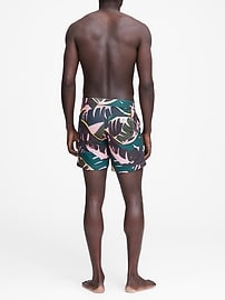 Retromarine &#124 Palm Tropical Camo Swim Short