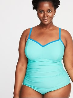 7a53f72b3 Women's Plus-Size Swimwear & Bikinis | Old Navy