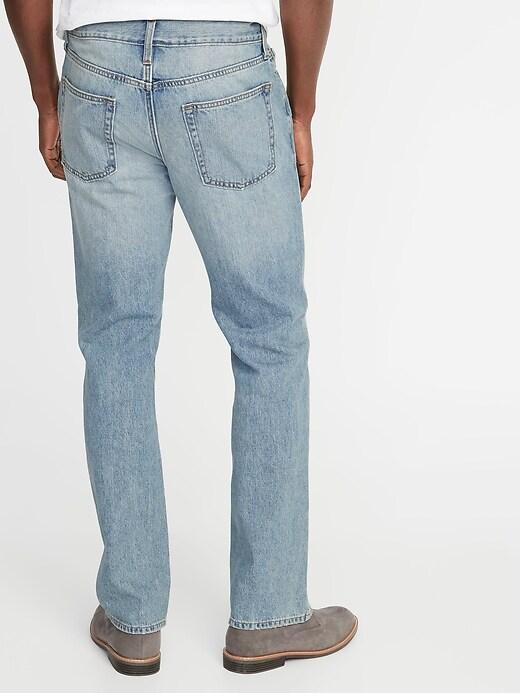 Rigid Boot-Cut Jeans For Men