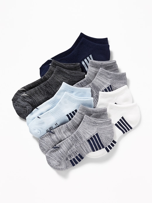 Go-Dry Ankle Socks 6-Pack for Boys