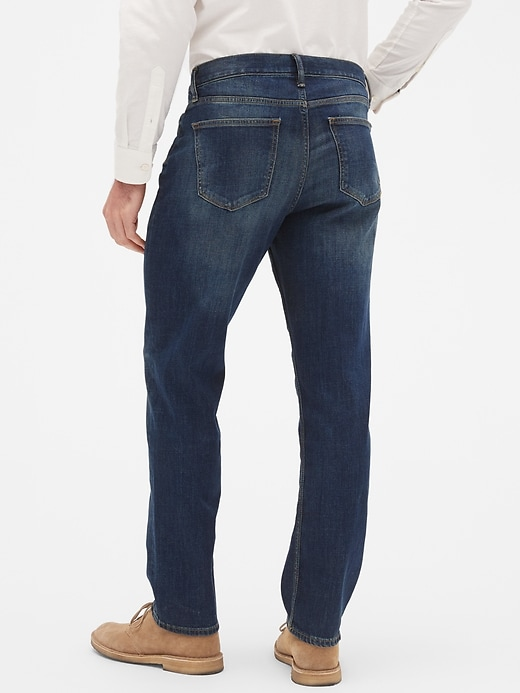 Athletic-Fit Stretch Dark Jean