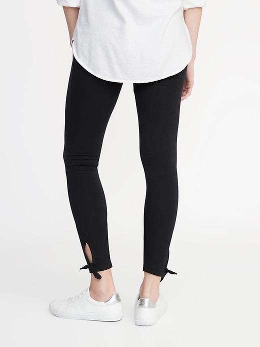 Tie-Ankle Leggings for Women