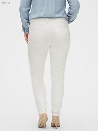 StayClean Sculpt White Skinny Jean