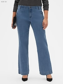 Light Wash Trouser Jean