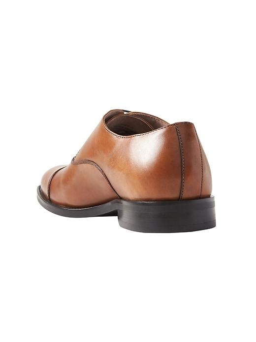 Kevin Italian Leather Cap-Toe Oxford