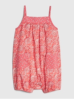 db49ad420 Baby Mix-Print Shorty One-Piece