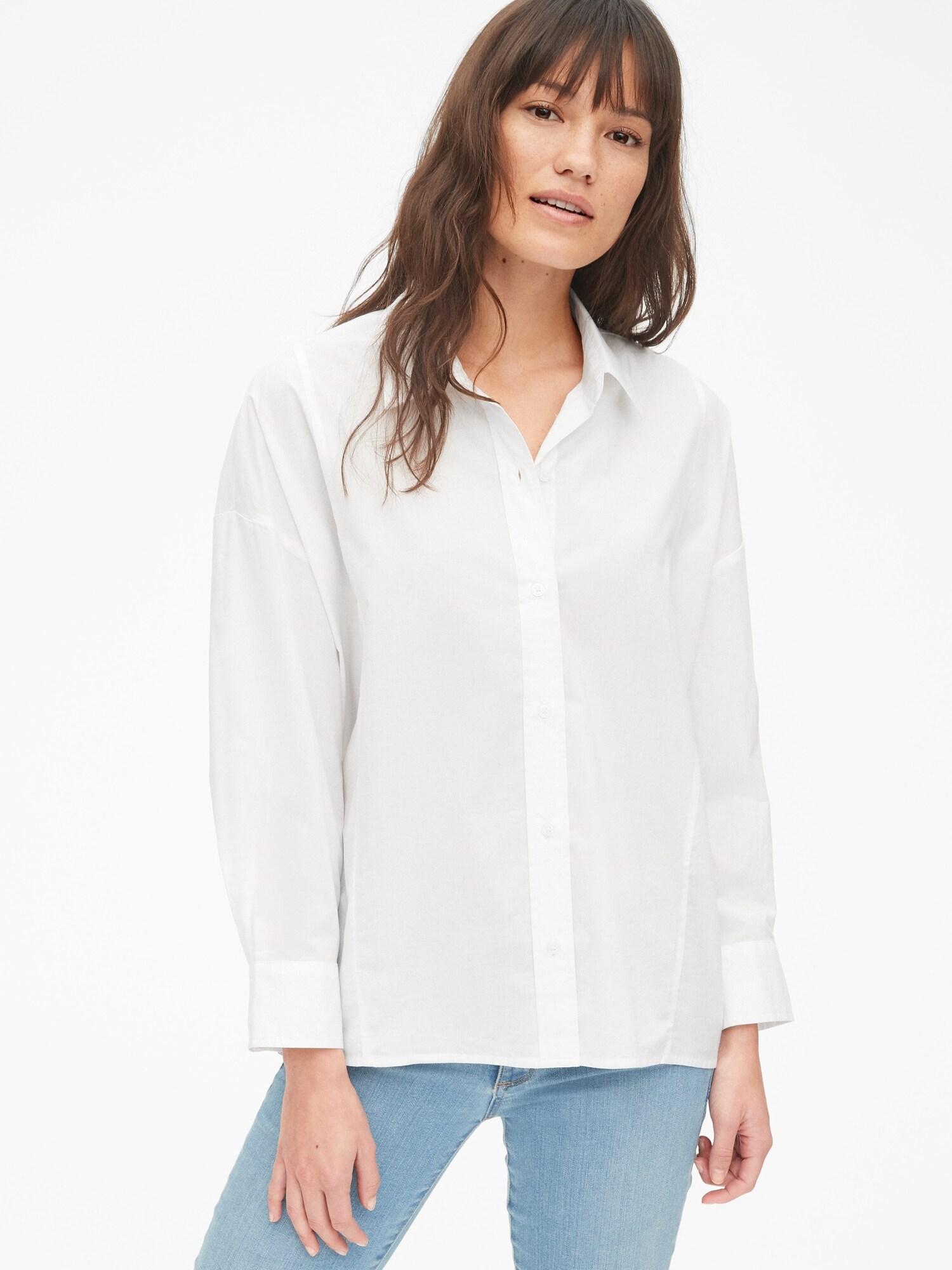 ボタンフロント シャツ