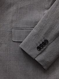 Slim Smart-Weight Performance Seersucker Suit Jacket