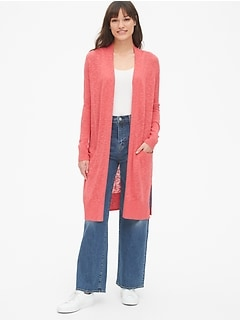 3923907069a Duster Cardigan Sweater
