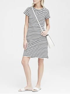 eac4a5be94 Stripe T-Shirt Dress