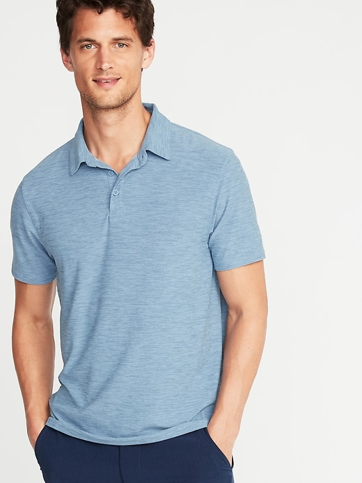 Ultra-Soft Breathe ON Polo for Men